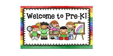 Welcome to School - WELCOME TO PREK-A!